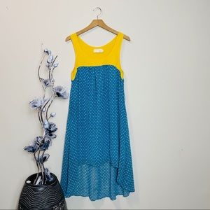 a'reve Anthropologie low high dress
